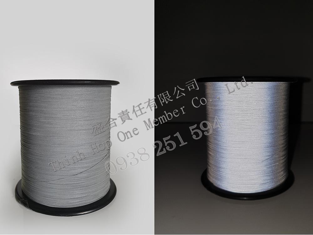 Sợi phản quang màu bạc