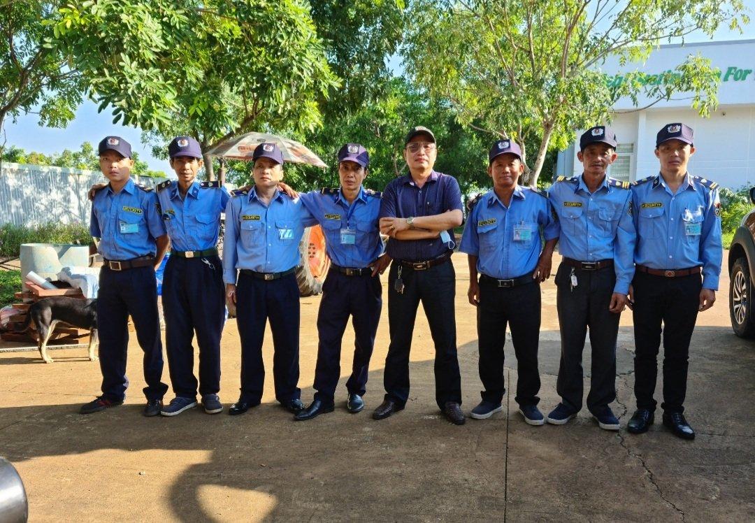Bảo vệ Ban Quản Lý KCN Đồng Xoài III